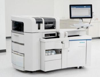 Imagen: El sistema de inmunoanálisis ADVIA Centaur XPT, diseñado para los diagnósticos exactos y mejor atención de los pacientes (Fotografía cortesía de Siemens Healthcare).