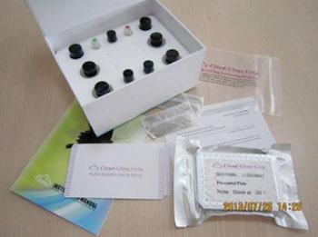 Imagen: Un kit ELISA específico para la copeptina humana (Fotografía cortesía de USCN Life Science).