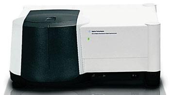 Imagen: El espectrofotómetro de fluorescencia Cary Eclipse (Fotografía cortesía de Agilent Technologies).