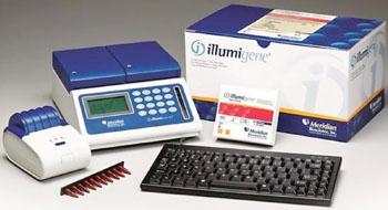 Imagen: El kit de análisis illumigene para la detección del Clostridium difficile toxigénico (Fotografía cortesía de Meridian Bioscience).