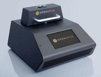 Imagen: La qPCR abierta, el nuevo termociclador de menor costo y de fuente abierta para la PCR en tiempo real, del mundo (Fotografía cortesía de Chai Biotechnologies).