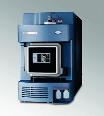 Imagen: El espectrómetro de masas cuadropolo Xevo G2 (Q-TOFMS) (Fotografía cortesía de Waters).