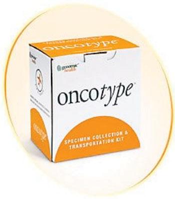 Imagen: El kit de transporte y colección de muestras Oncotype (Fotografía cortesía de Global Health).