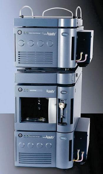 Imagen: El sistema de cromatografía líquida de ultra desempeño (UPLC), nanoACQUITY (Fotografía cortesía de Waters).