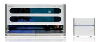 Imagen: El sistema cobas 4800 ofrece la preparación totalmente automatizada de muestras con tecnología de PCR en tiempo real para la amplificación y detección del ADN (Fotografía cortesía de Roche).