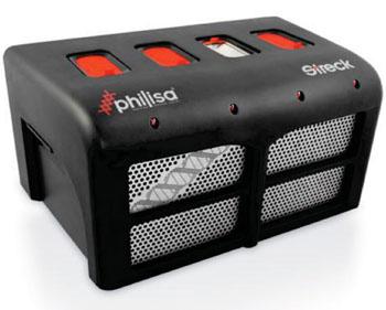 Imagen: El termociclador para la PCR, en tiempo real, PhilisaW para acortar el tiempo-a-resultados (Fotografía cortesía de Streck).