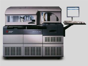 Imagen: Los sistemas clínicos UniCel DxC 800 synchron (Fotografía cortesía de Beckman Coulter).