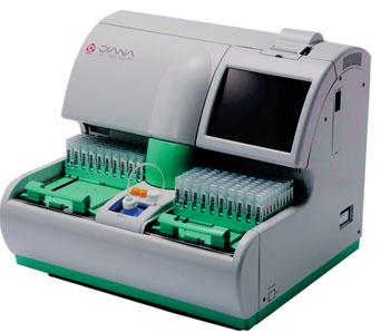 Imagen: El OC-Sensor Diana, un analizador automático, de alta eficiencia, utilizado para la detección de cáncer colorrectal mediante las prueba inmunoquímica  OC FIT-CHEK fecal (Fotografía cortesía de Polymedco).