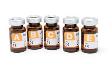 Imagen: El nuevo producto Linealidad LQ Especial para Diabetes es un material de control de calidad, ensayado, que consta de 5 niveles diferentes que demuestran una relación lineal entre sí, cuando son analizados para el C-péptido, la fructosamina, y la insulina (Fotografía cortesía AUDIT MicroControls).