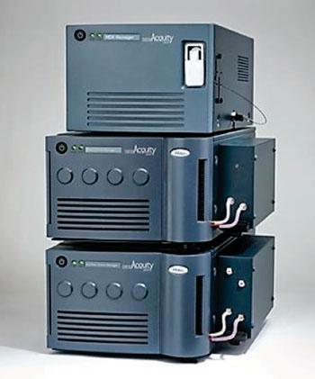 Imagen: El sistema de cromatografía líquida NanoAcquity (Fotografía cortesía de Waters).