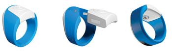 Imagen: El dispositivo de diagnóstico portátil, Hoope ha sido diseñado para ser usado en el pulgar durante los análisis. El anillo permitirá la detección temprana, rápida, de las enfermedades de transmisión sexual (ETS), como la sífilis, la gonorrea, la clamidia y tricomoniasis (Fotografía cortesía de Hoope).