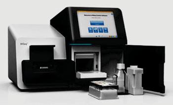Imagen: El sistema de secuenciación de próxima generación, MiSeq (Fotografía cortesía de Illumina).