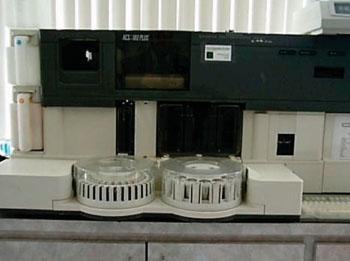 Imagen: El sistema de quimioluminiscencia automatizado (ACS) -180 (Fotografía cortesía de Bayer).
