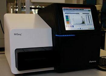 Imagen: El sistema de secuenciación de próxima generación, MiSeq (Fotografía cortesía de la Universidad de Lausana).