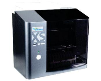 Imagen: El autoanalizador XS-2000i (Fotografía cortesía de Sysmex Corporation).