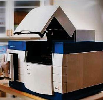 Imagen: El instrumento de pirosecuenciación, PyroMark Q96 MD (Fotografía cortesía de Qiagen).