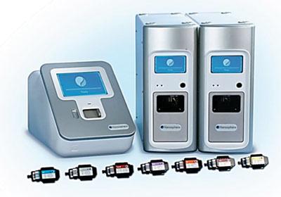 Imagen: El sistema de análisis, Verigene BC-GP, para la detección rápida de infecciones del torrente sanguíneo (Fotografía cortesía de Nanosphere).